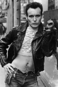 Adam Ant black and white poster