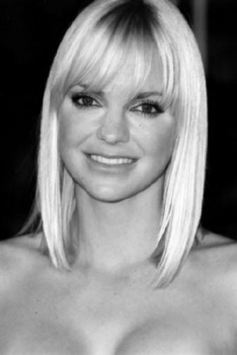 Anna Faris Poster Black and White Mini Poster 11