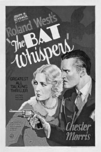 Bat Whispers Poster Black and White Poster 27