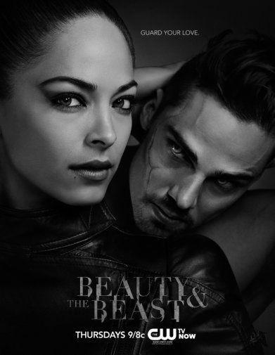 Beauty And The Beast black and white poster