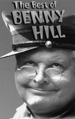 Best Of Benny Hill poster tin sign Wall Art