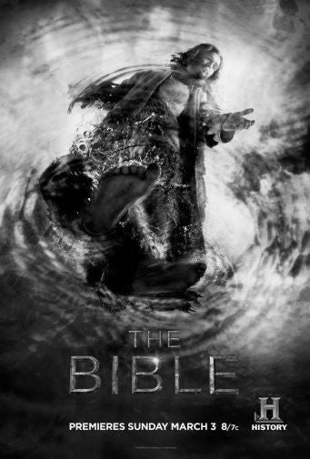 Bible Poster Black and White Mini Poster 11