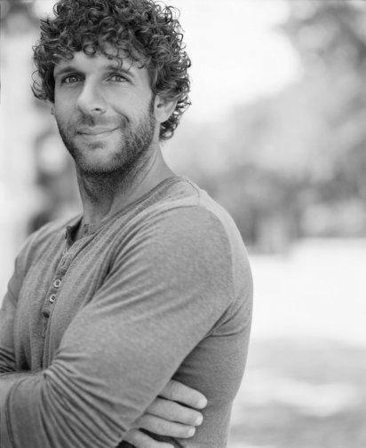 Billy Currington black and white poster