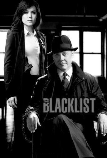 Blacklist Poster Black and White Mini Poster 11
