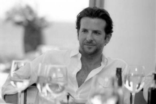 Bradley Cooper black and white poster