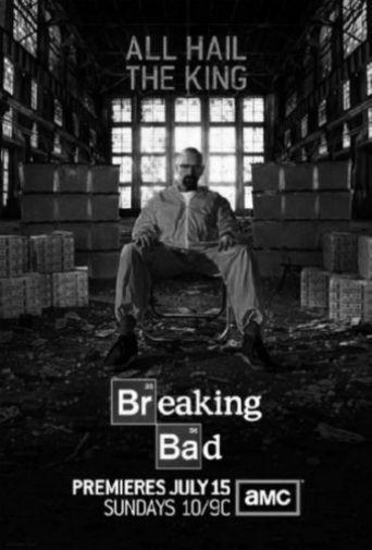 Breaking Bad black and white poster
