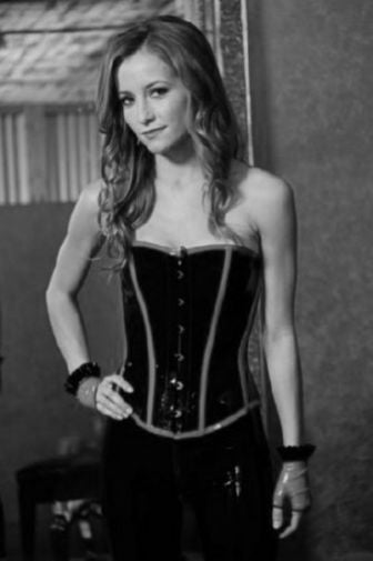 Candace Bailey Poster Black and White Mini Poster 11