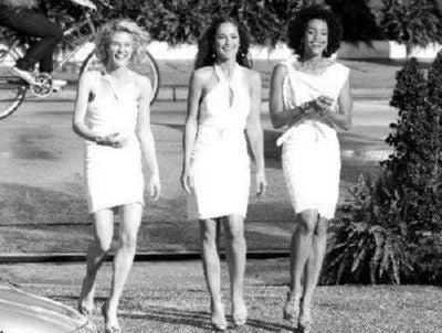 Charlies Angels Poster Black and White Mini Poster 11