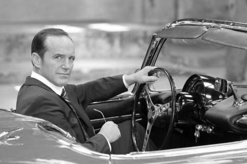 Clark Gregg Poster Black and White Mini Poster 11
