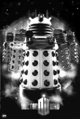 Dalek poster tin sign Wall Art