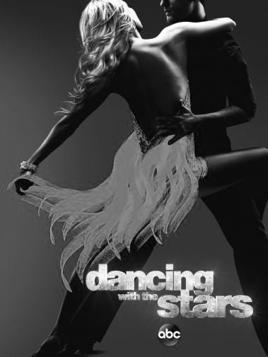 Dancing With The Stars Poster Black and White Mini Poster 11