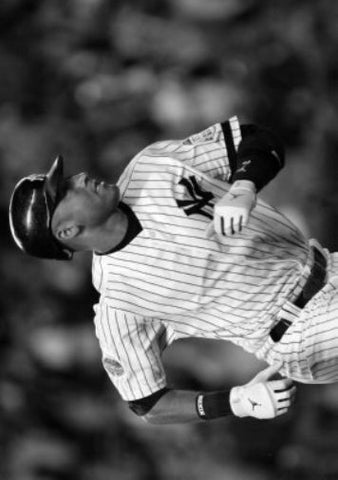"Derek Jeter Poster Black and White Mini Poster 11""x17"""