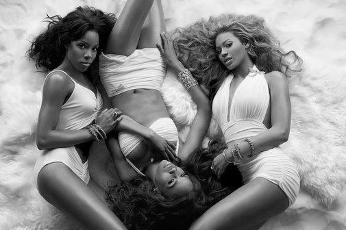 Destinys Child black and white poster