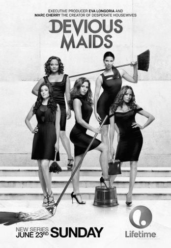 Devious Maids Poster Black and White Mini Poster 11