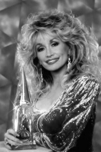 Dolly Parton Poster Black and White Mini Poster 11