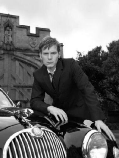 Endeavour black and white poster