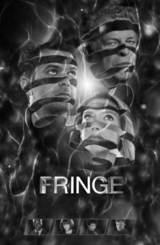 Fringe poster tin sign Wall Art