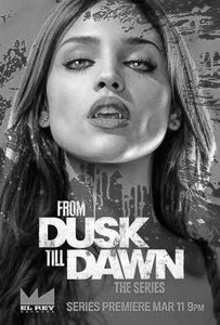 From Dusk Til Dawn black and white poster