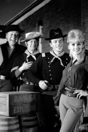 F Troop Poster Black and White Mini Poster 11