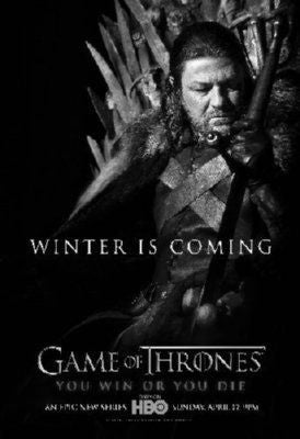 Game Of Thrones Poster Black and White Mini Poster 11