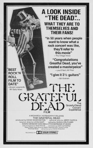 Grateful Dead black and white poster