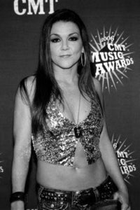 Gretchen Wilson black and white poster