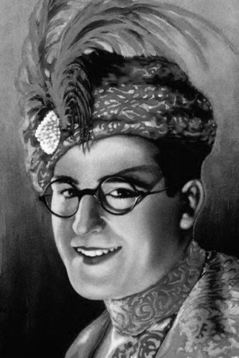 Harold Lloyd Poster Black and White Mini Poster 11