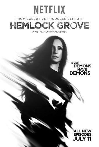 Hemlock Grove black and white poster