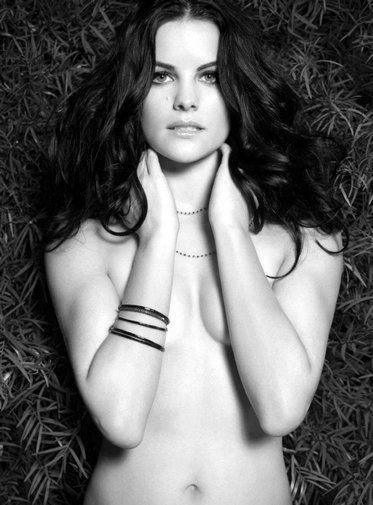 Jaimie Alexander black and white poster