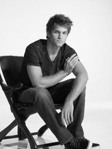 Keegan Allen black and white poster