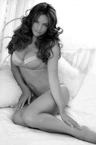 Kelly Brook poster tin sign Wall Art