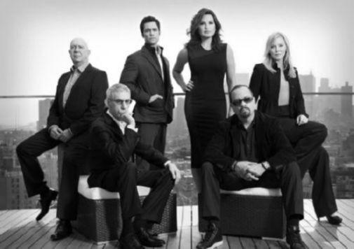Law And Order Svu black and white poster