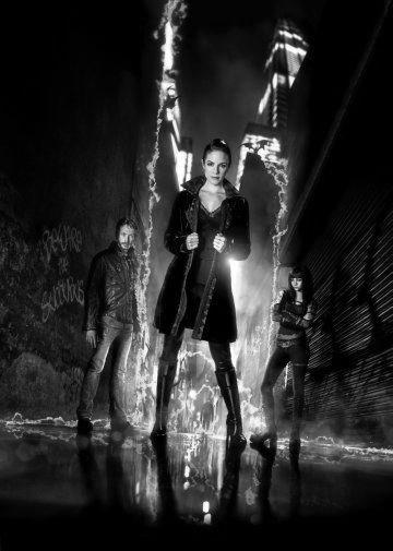Lost Girl black and white poster