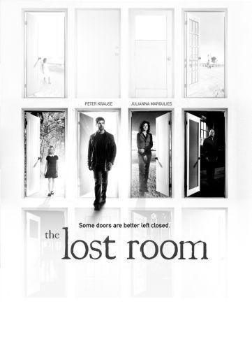 Lost Room black and white poster