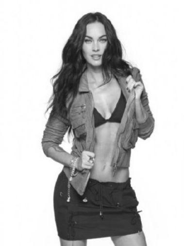 Megan Fox poster tin sign Wall Art