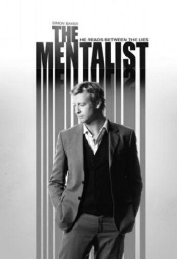 Mentalist poster tin sign Wall Art