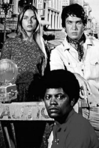 Mod Squad Original Series black and white poster