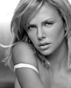 Charlize Theron poster tin sign Wall Art