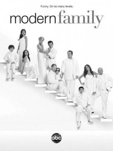 Modern Family poster tin sign Wall Art