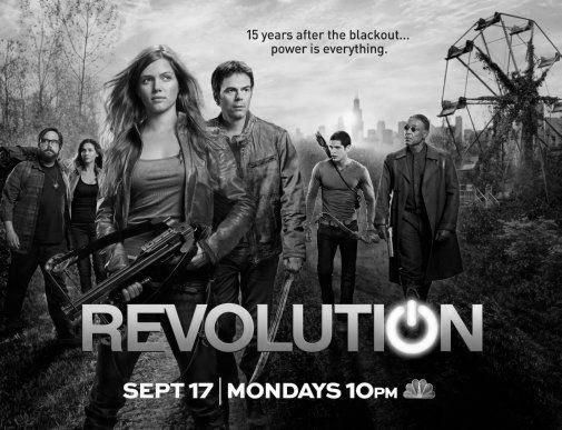 Revolution black and white poster