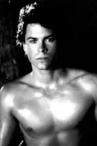 Rob Lowe poster tin sign Wall Art