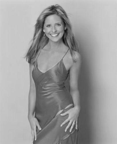 Sarah Michelle Gellar poster tin sign Wall Art