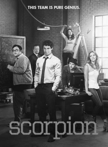 Scorpion black and white poster