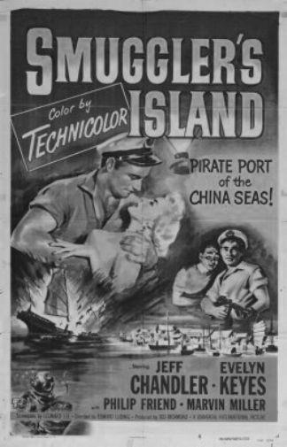 Smugglers Island poster tin sign Wall Art