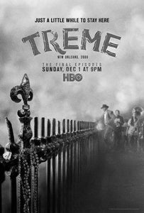 Treme poster tin sign Wall Art