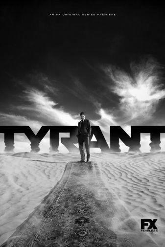Tyrant black and white poster