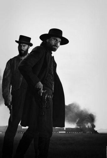 Hell On Wheels Poster Black and White Mini Poster 11