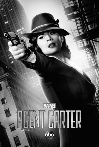 Agent Carter Poster Black and White Poster 16