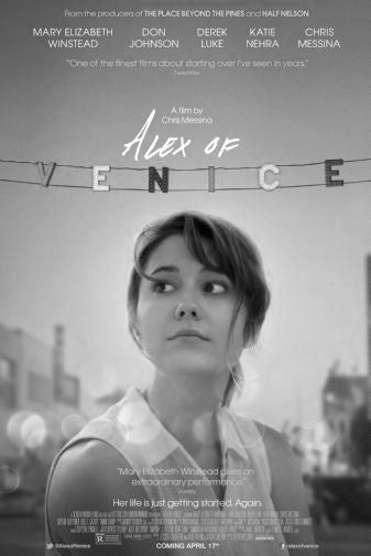 Alex Of Venice Black and White Poster 24