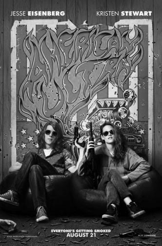 American Ultra Black and White Poster 24